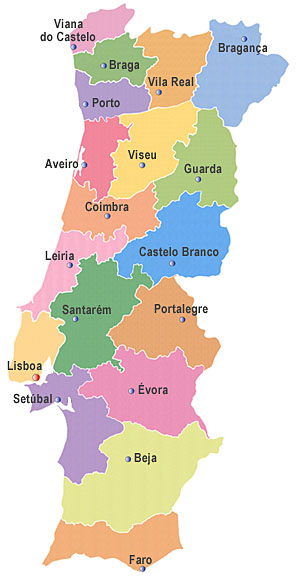 Berühmt Free Style 2.0: Mapa De Portugal OQ55